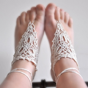 pattern to make footless sandals