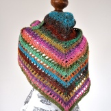 photo of the noro shawl