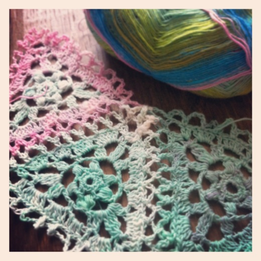 new crochet shawl